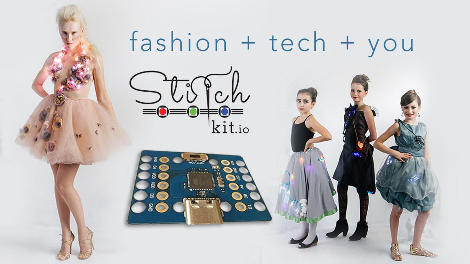 fashion tech stitchkit va vous faire faire de la couture connect e genio. Black Bedroom Furniture Sets. Home Design Ideas