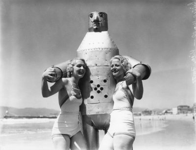 En 1935 les robots allaient à la plage