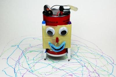 Un robot diy qui dessine tout seul en 10 mn